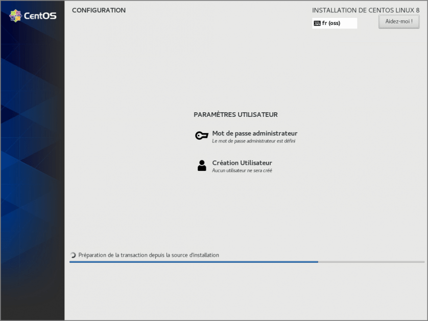 CentOS 8 - Installation