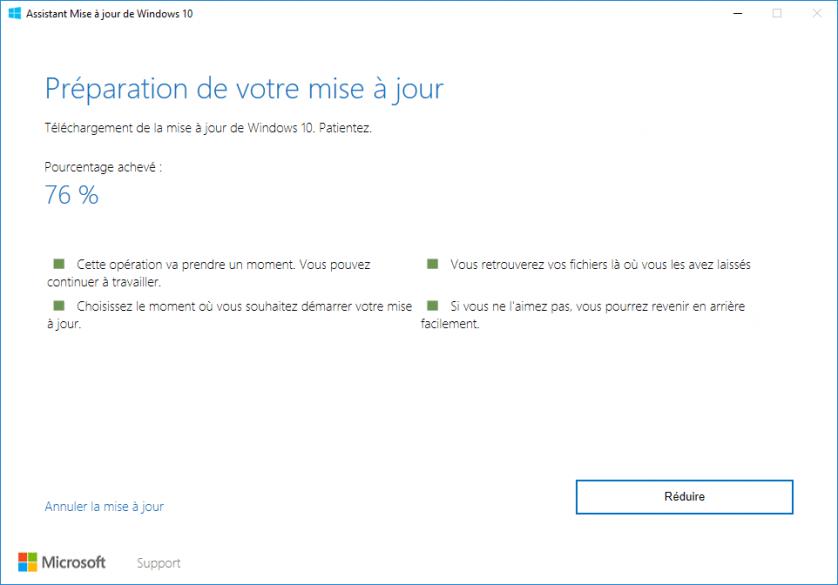 version 1803 de Windows 10